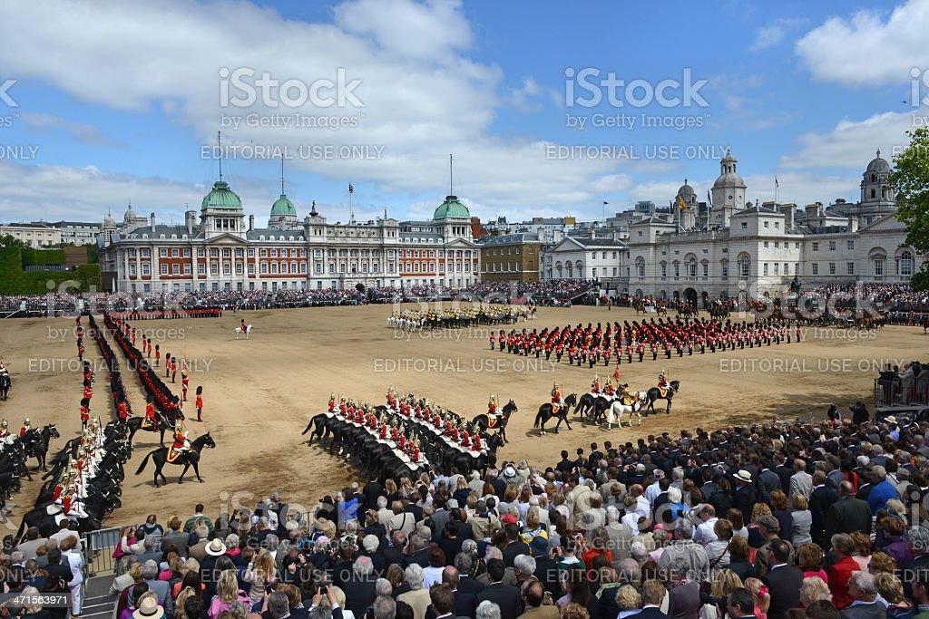 London Ceremony royalty-free stock photo