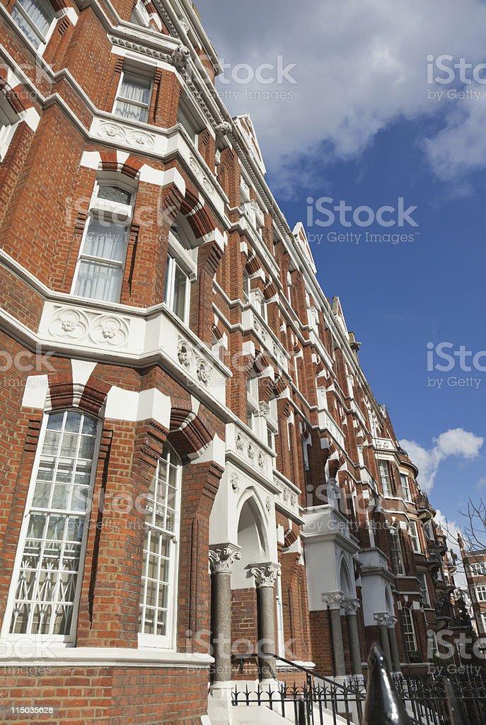 London, Chelsea quarter royalty-free stock photo