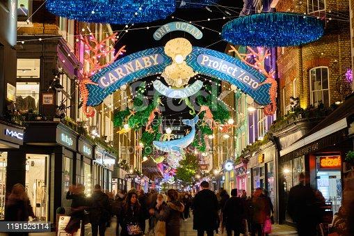 istock London Christmas Markets, 2019 1191523114