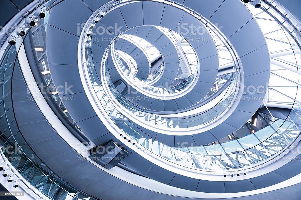 London City Hall Spiral stock photo