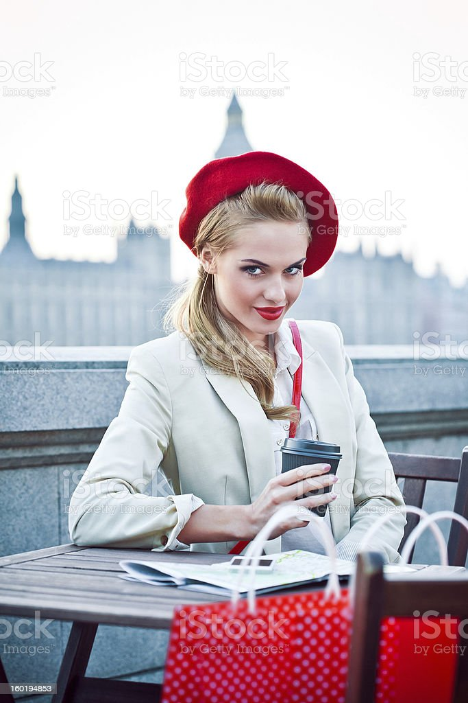 London City Life royalty-free stock photo