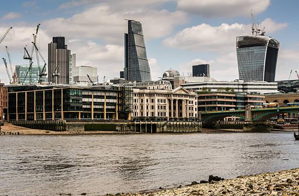 Cтоковое фото Лондон Сити skyline