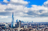 London city skyline in a beautiful day