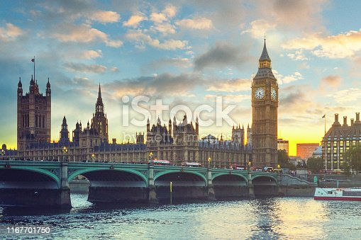 The Big Ben and the House of Parliament