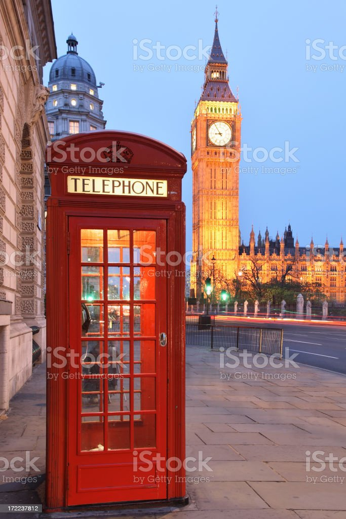 London Cityscape stock photo