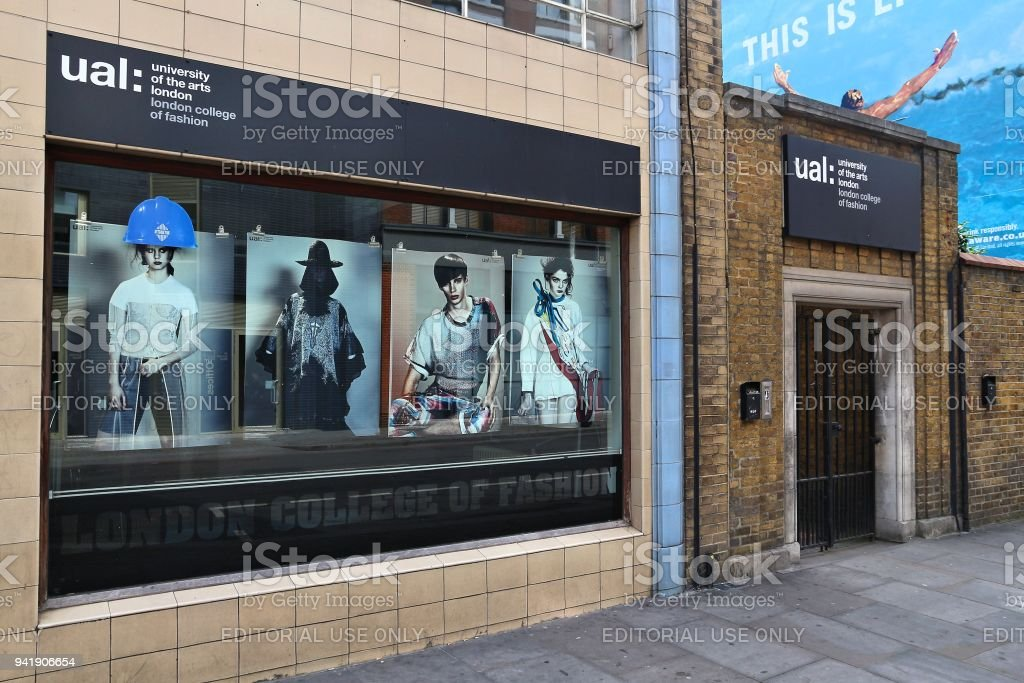 London College of Fashion royalty-free stock photo