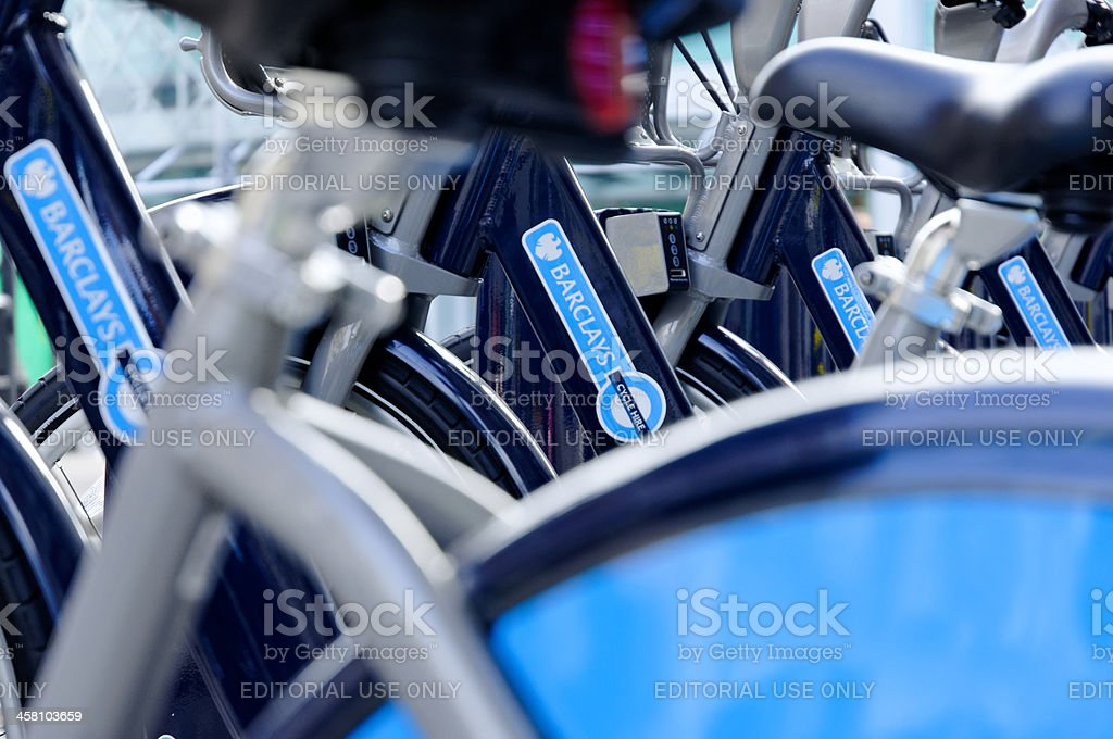 London cycle hire logo stock photo
