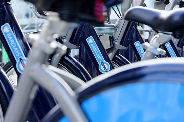 London cycle hire logo stock photo