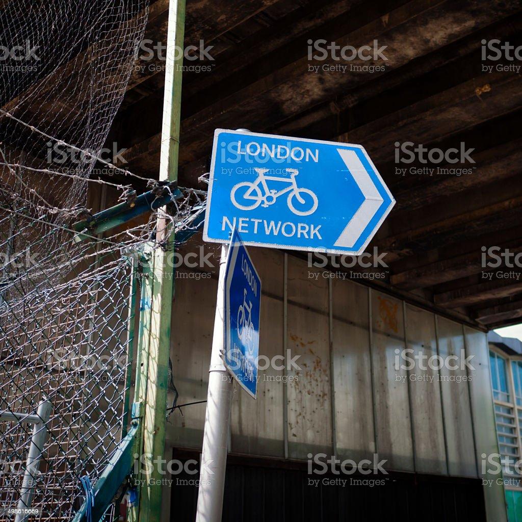 Ciclo de rede de Londres - foto de acervo