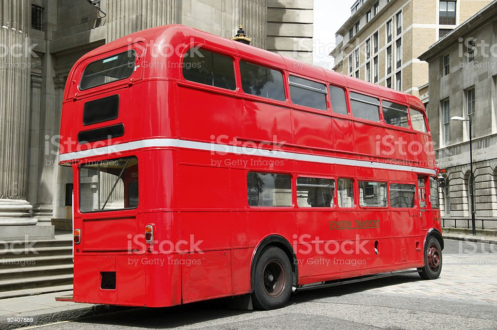London Double Decker Bus royalty-free stock photo