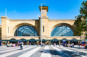 for Editorial collection - Bahnhof Kings Cross in London