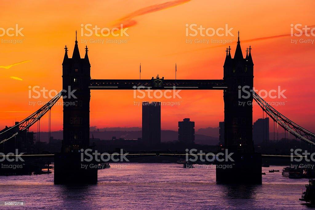 Cityscape Famous Place International Landmark River Thames London England