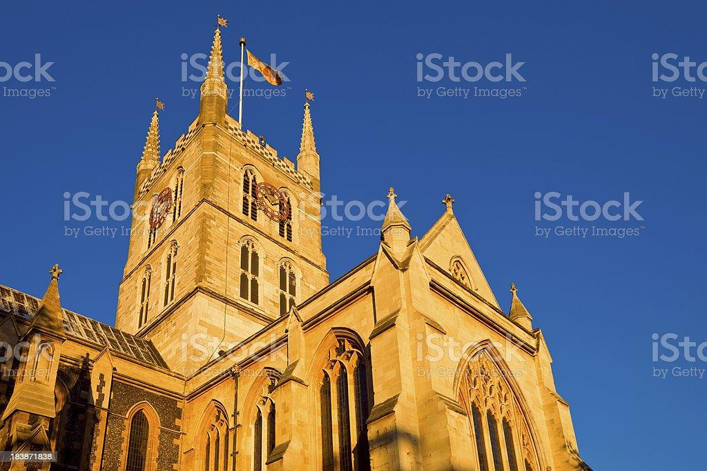 London, England, UK, Southwark Cathedral stock photo