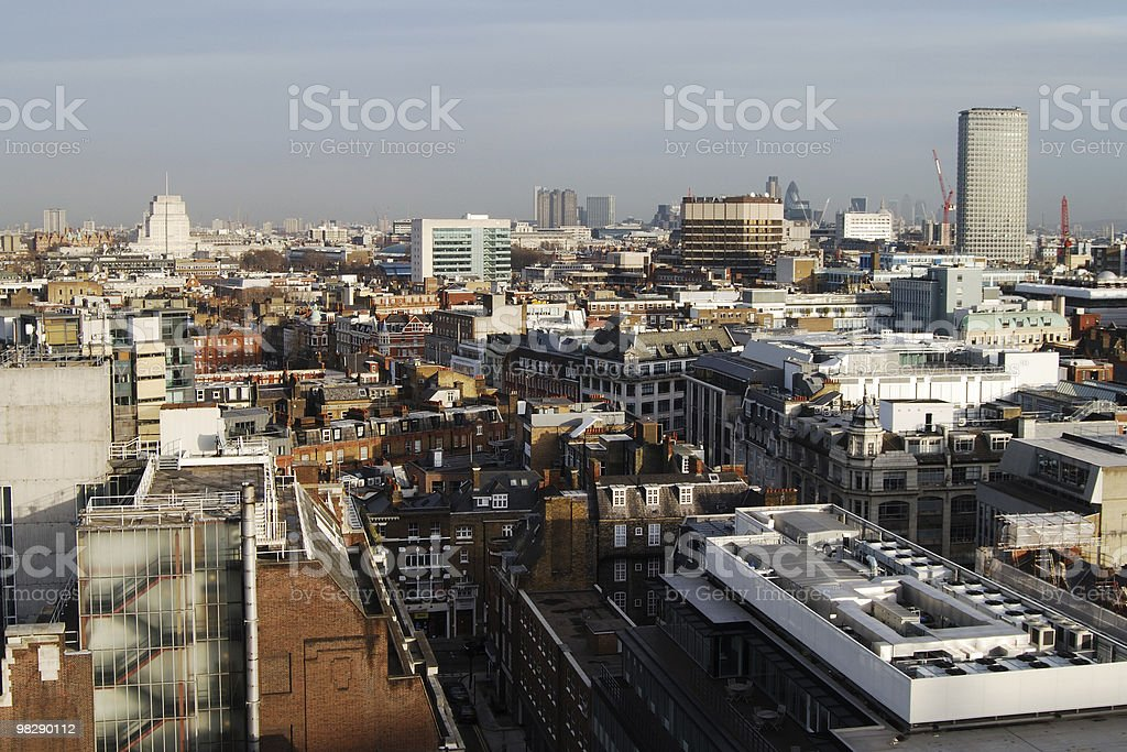 Londra, Inghilterra-West End ricerca East foto stock royalty-free