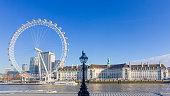 istock London Eye and County Hall - taken from the River Thames 1204227962