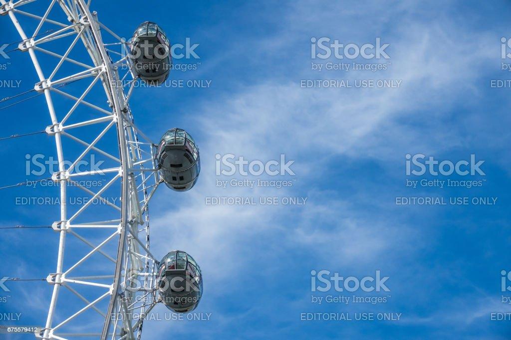 London Eye capsules photo libre de droits