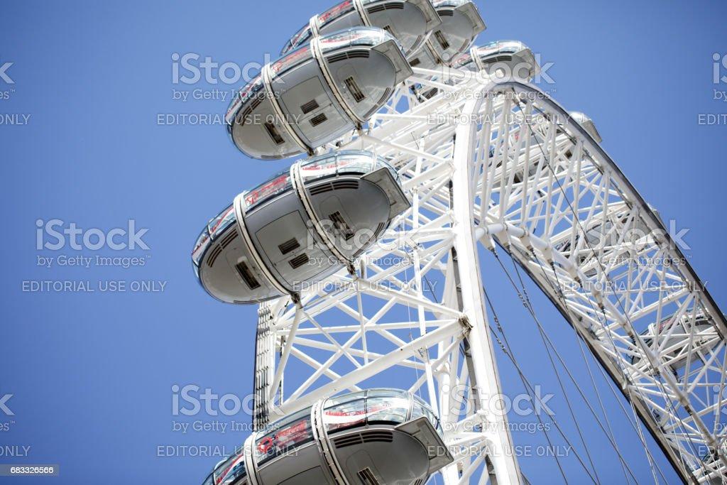 London Eye zbiór zdjęć royalty-free