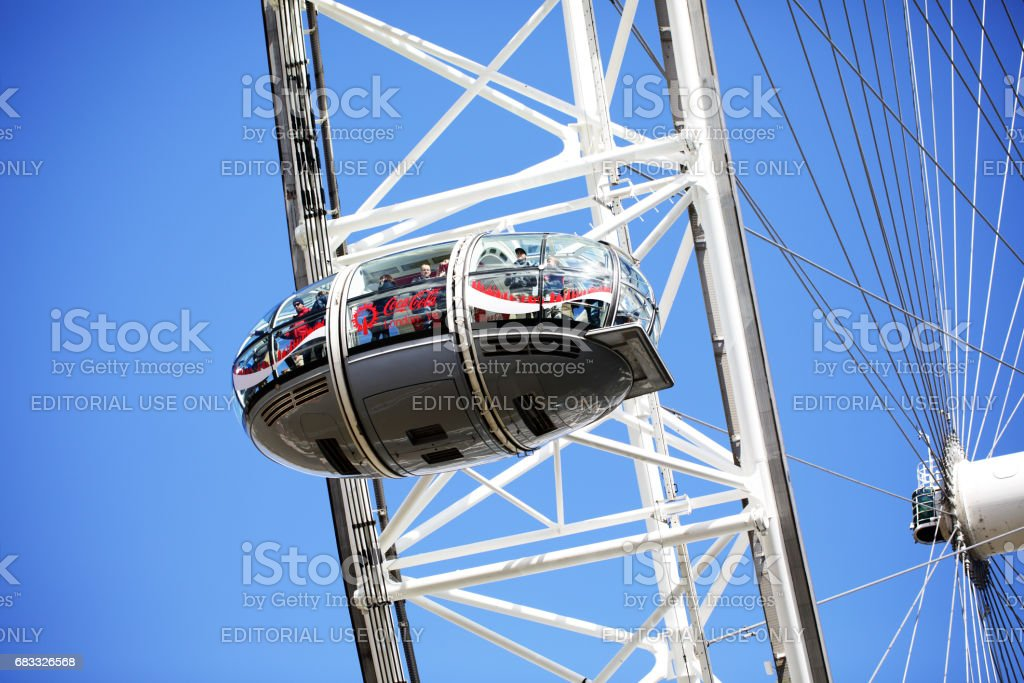 London Eye foto stock royalty-free
