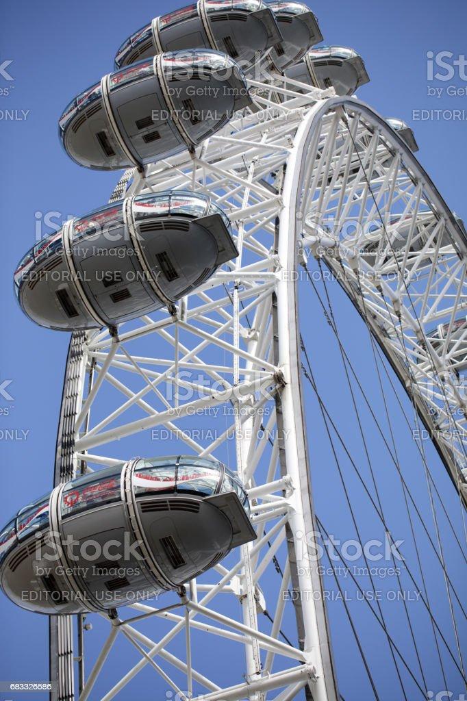 London Eye photo libre de droits