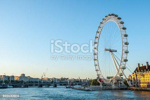 London - England, Wheel, Capital Cities, England