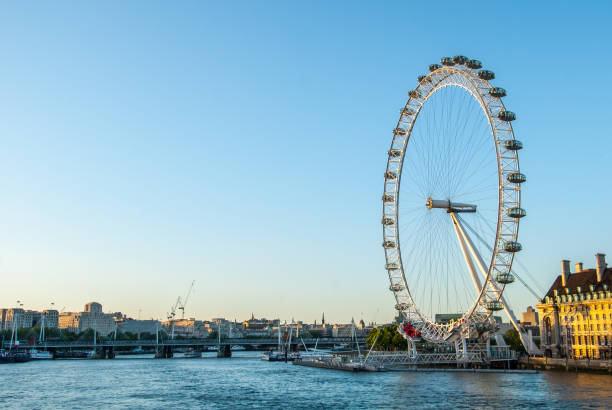 London Eye London - England, Wheel, Capital Cities, England southeast england stock pictures, royalty-free photos & images