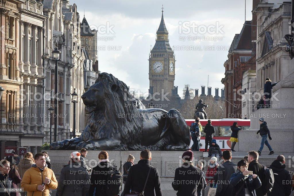 London faces stock photo