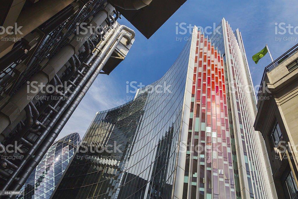 London financial district. royalty-free stock photo