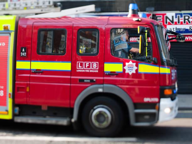 London Feuerwehr Truck – Foto