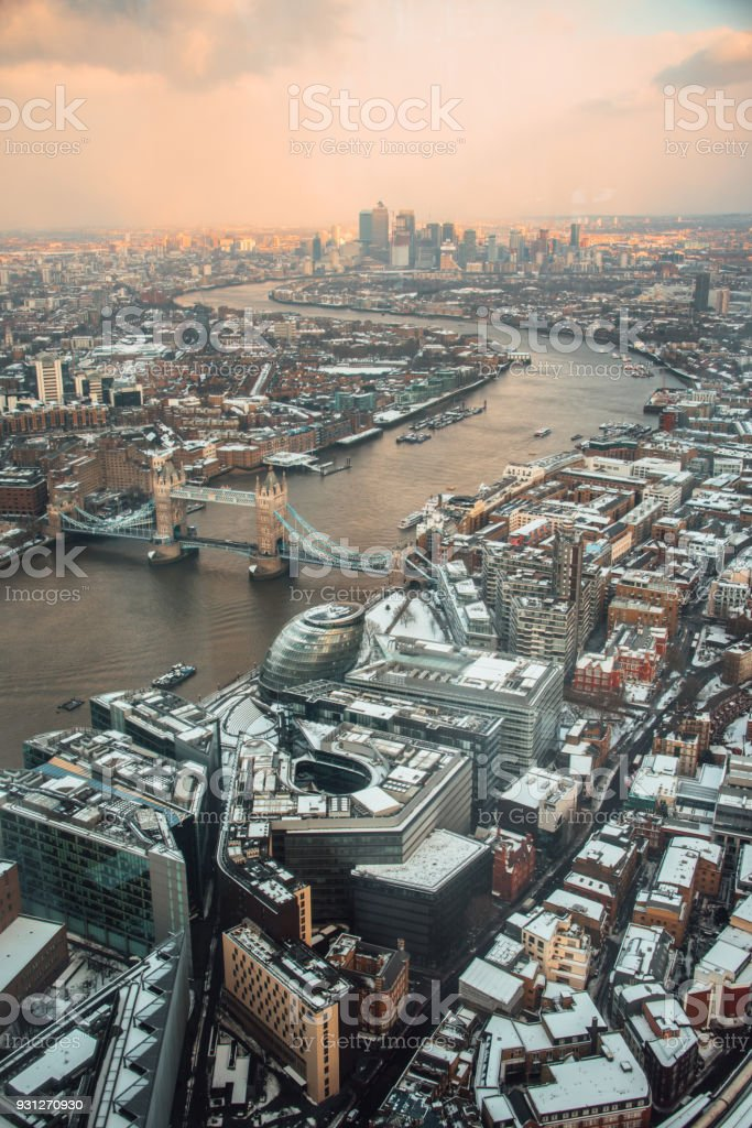 London from above - foto stock