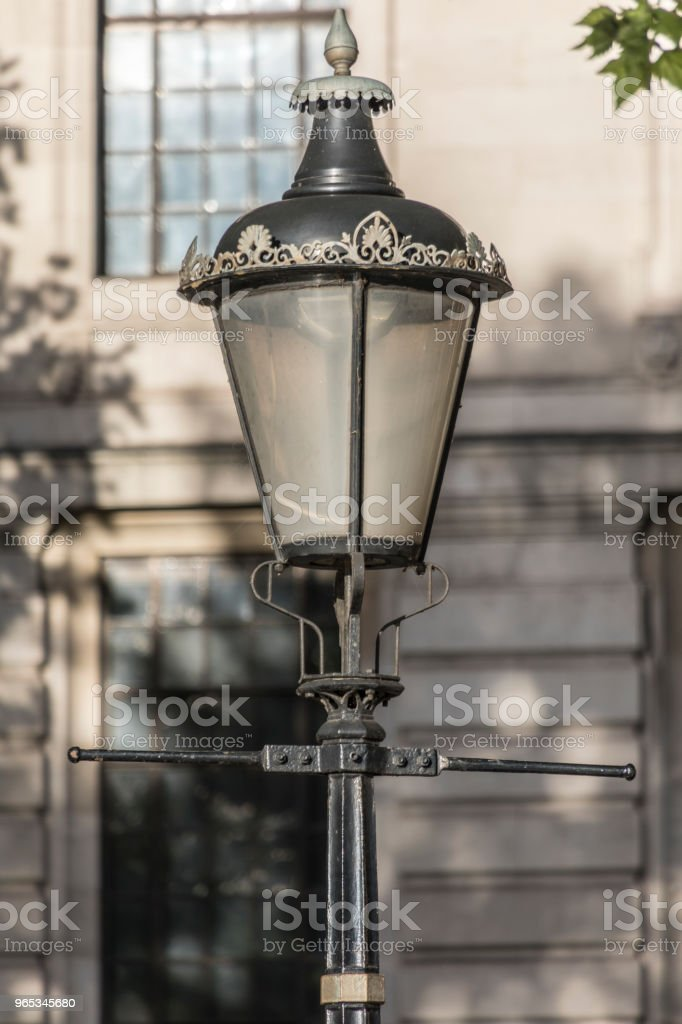London gas lamp royalty-free stock photo