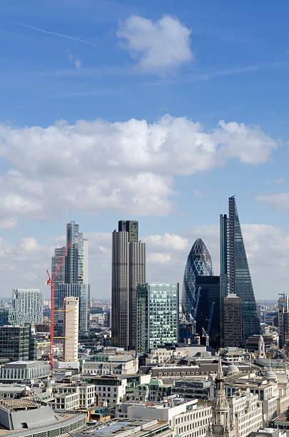 London internationale Finanz- und Geschäftsviertel – Foto