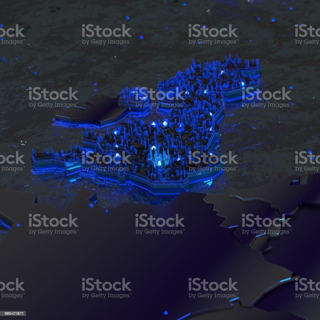 倫敦-大不列顛3d - 免版稅倫敦 - 英格蘭圖庫照片