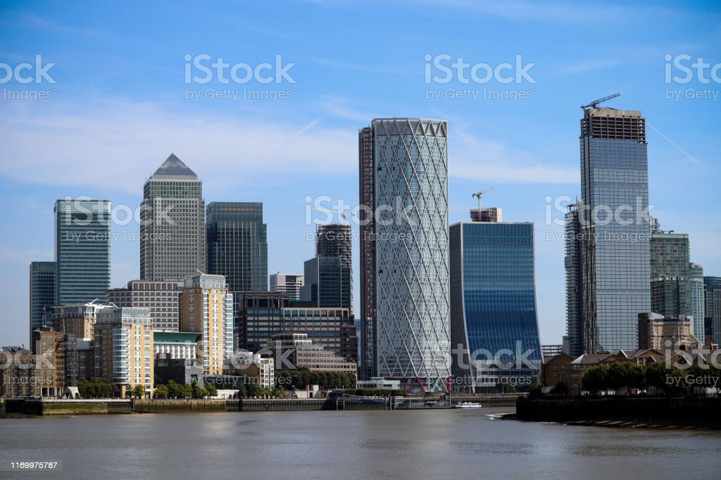 London high rise business buildings - Royalty-free Architecture Stock Photo