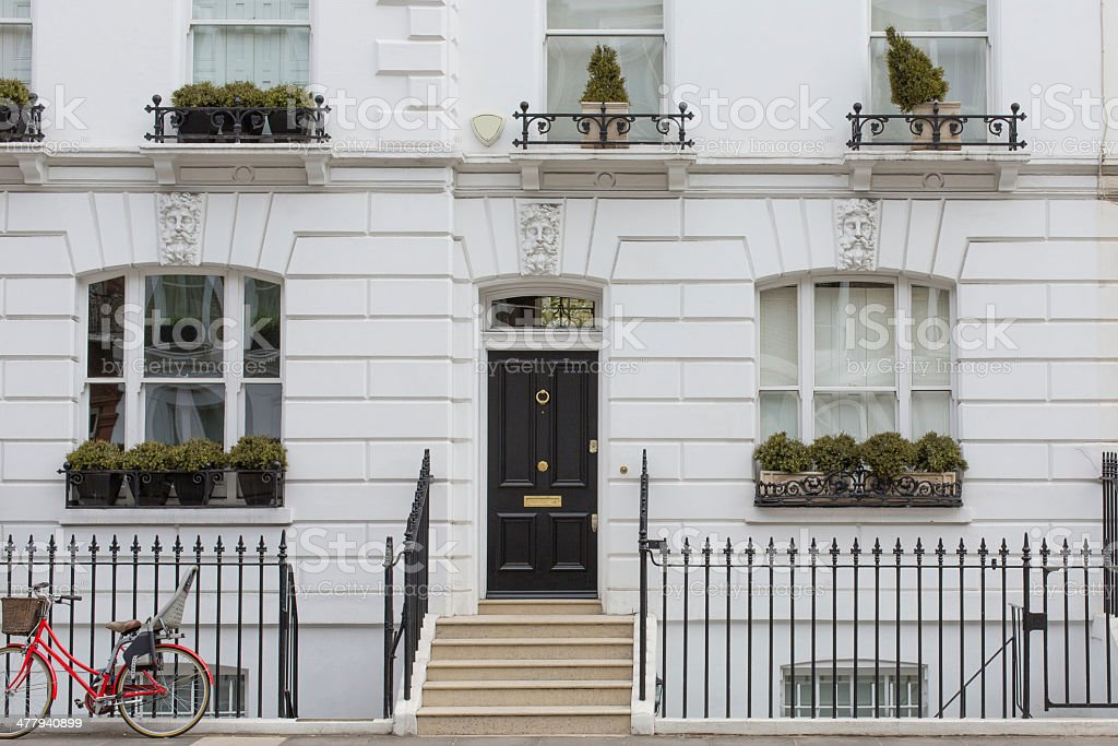London Home, Chelsea stock photo