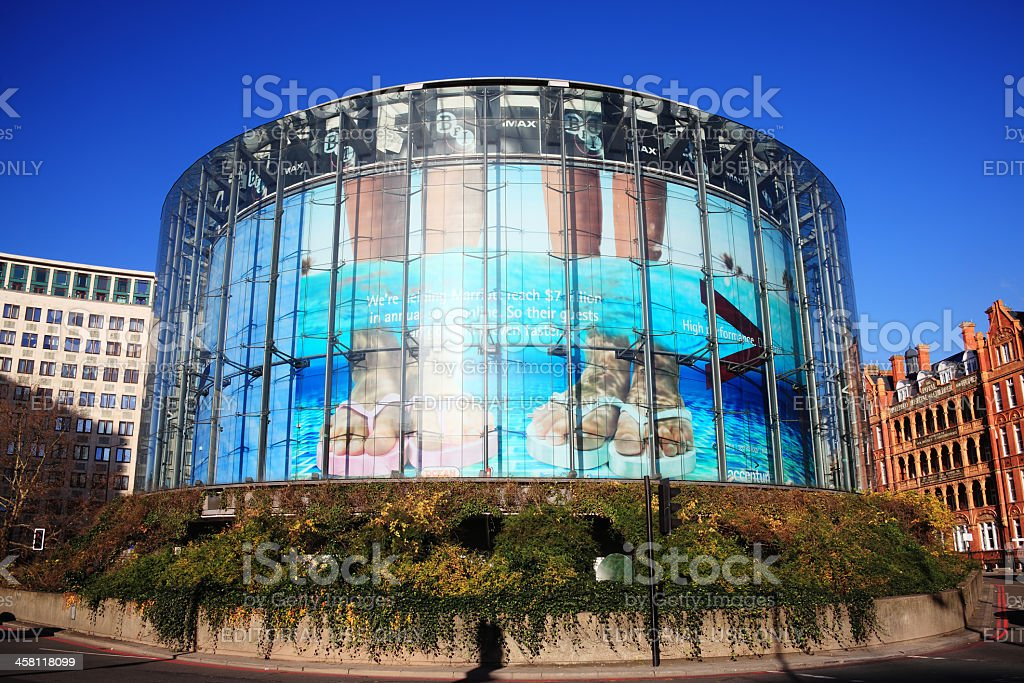London Imax stock photo