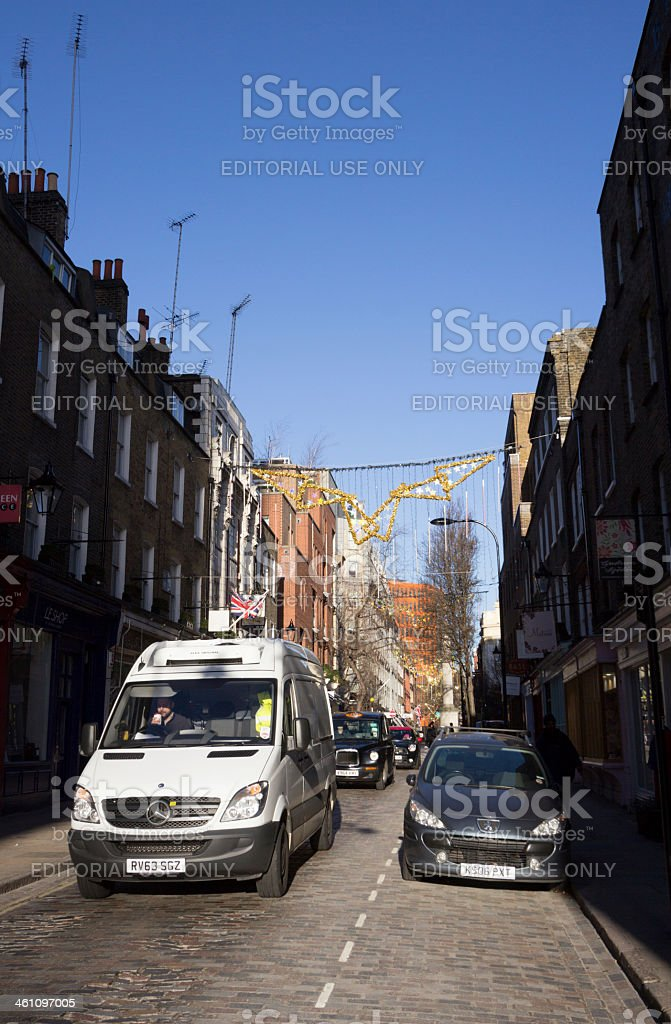 London in England, UK royalty-free stock photo
