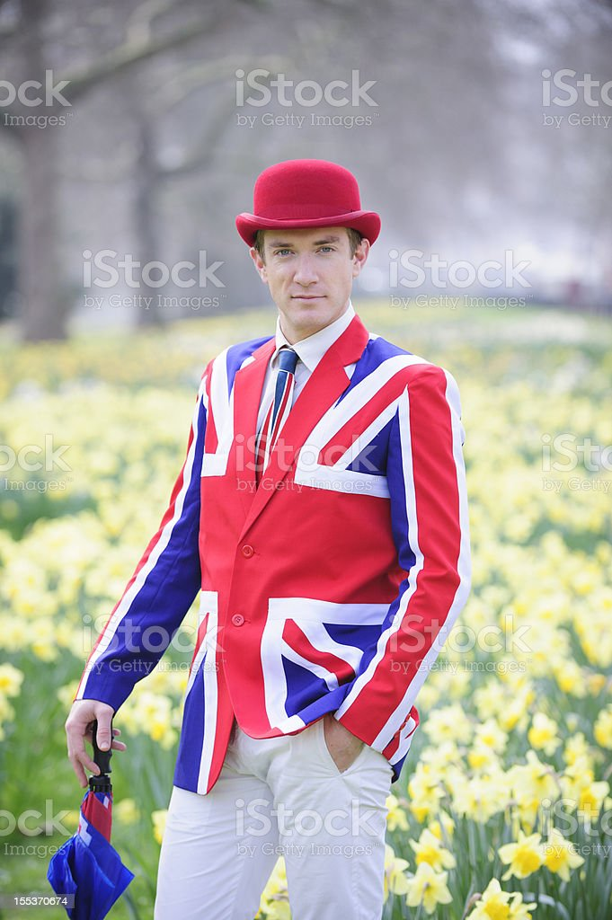 London in Spring royalty-free stock photo