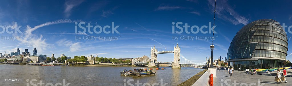 London landmarks. royalty-free stock photo