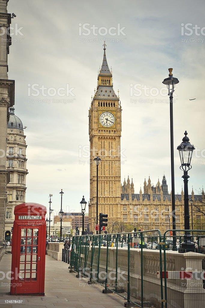 London landmarks royalty-free stock photo