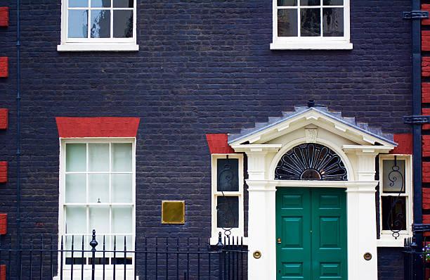 London Mayfair Door London, England, United Kingdom: June, 14, 2016. Mayfair door in London.  mayfair stock pictures, royalty-free photos & images