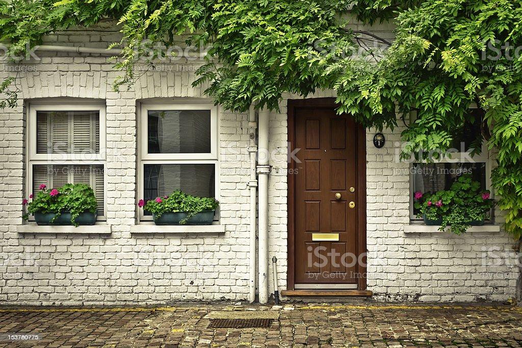 London Mews stock photo