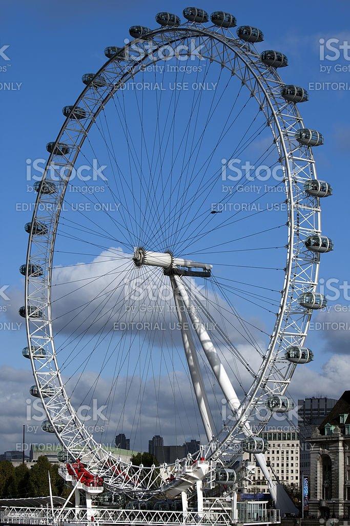London Millenium Eye, United Kingdom royalty-free stock photo