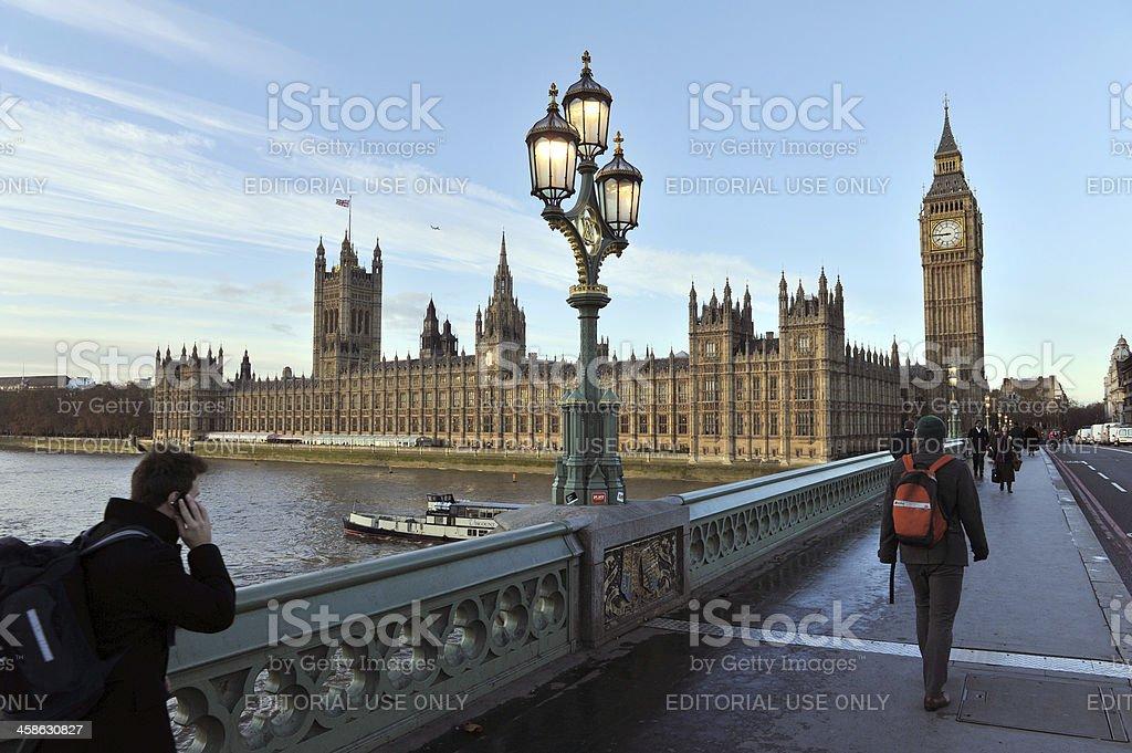 London morning royalty-free stock photo