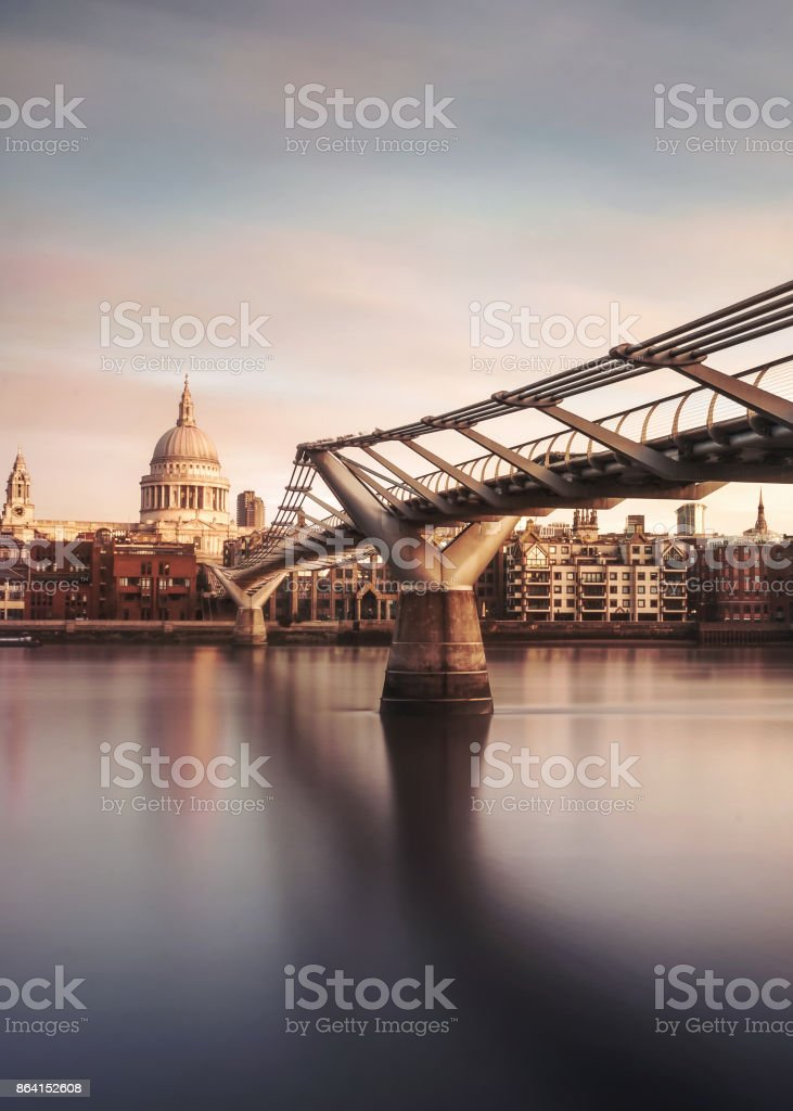 London Morning royalty-free stock photo