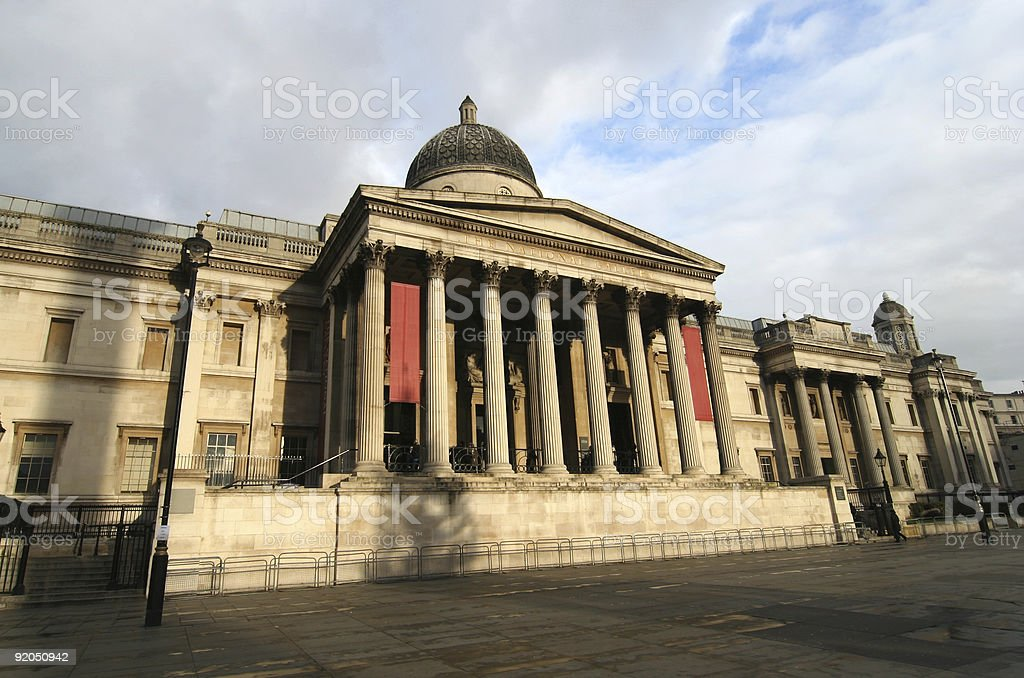 London National Gallery royalty-free stock photo
