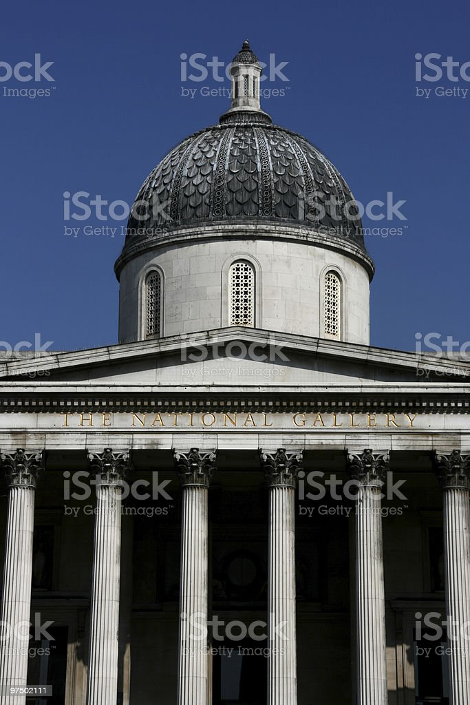 London - National Gallery royalty-free stock photo