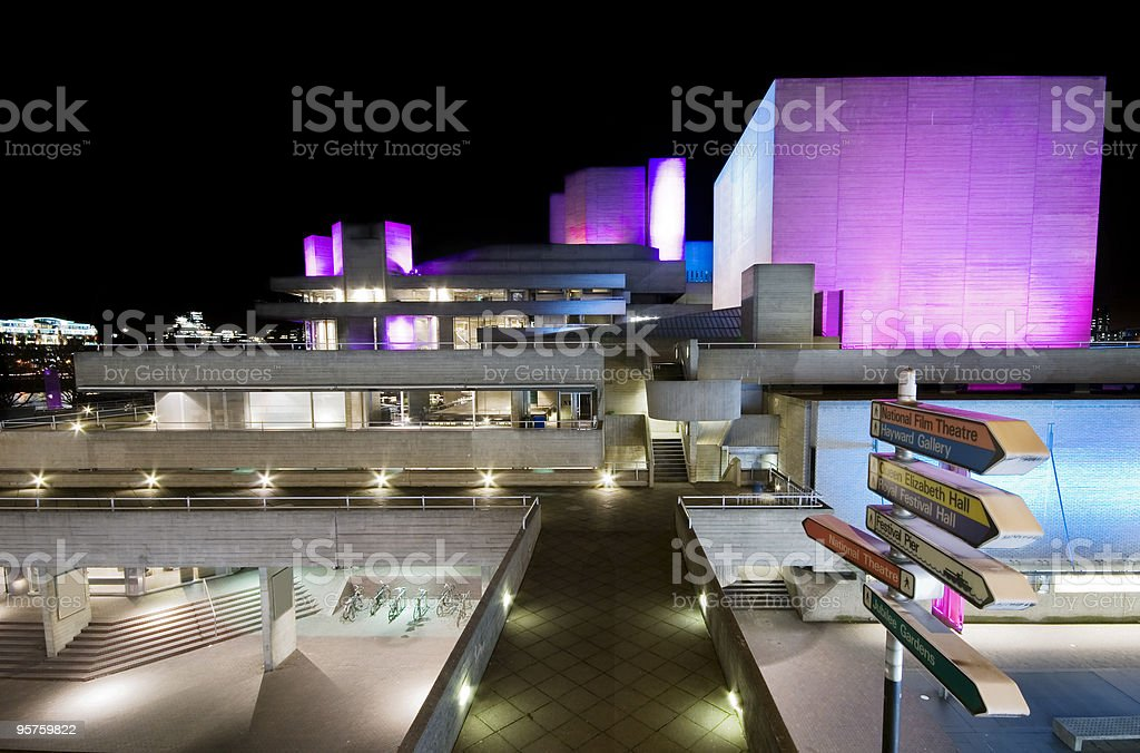 London National Theatre - Royalty-free Architecture Stock Photo