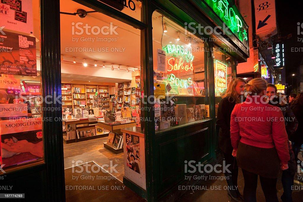 London. Nightlife. royalty-free stock photo