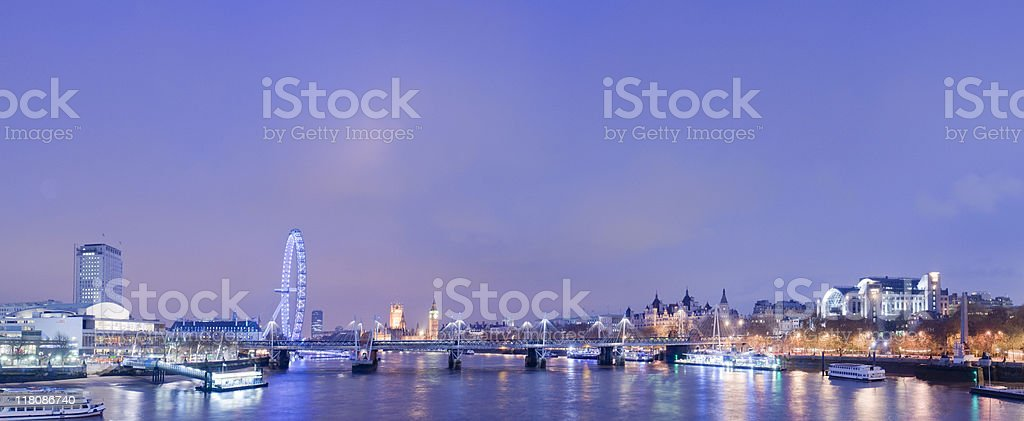London nights. royalty-free stock photo