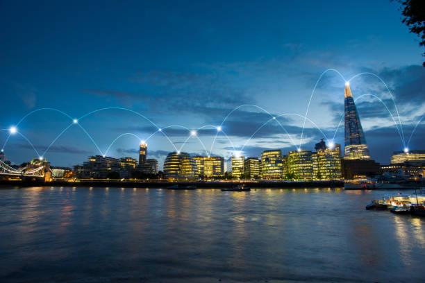 Londoner Bürogebäude für Netzwerk und Zukunftskonzept – Foto